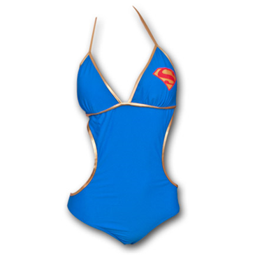 maillot de bain 1 pi ce superman supergirl juniors bleu pour seulement 45 68 sur. Black Bedroom Furniture Sets. Home Design Ideas