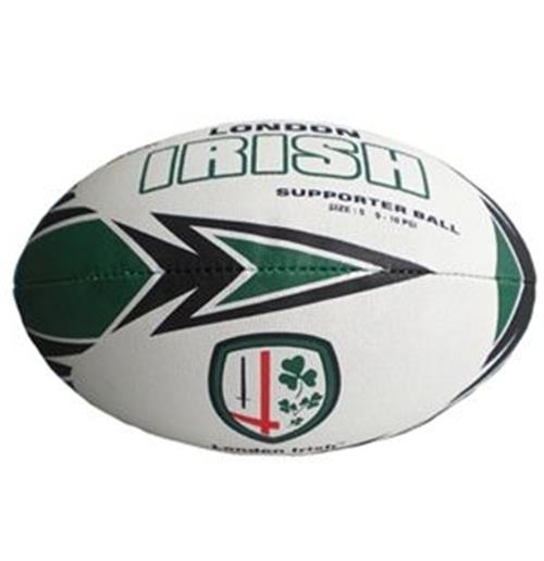 London Irish Ballon rugby supporter