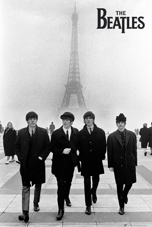 Maxi Poster The Beatles Paris