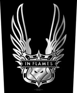 Patch In Flames - Winged Logo