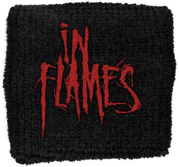 Bandeau de Poignet In Flames - Red Logo