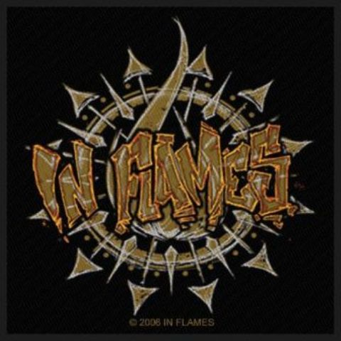 Écusson In Flames - Graffiti Logo