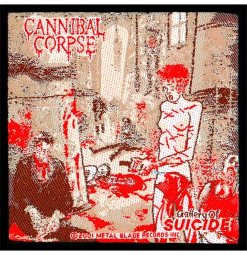 Patch Cannibal Corpse Gallery Of Suicide Ii