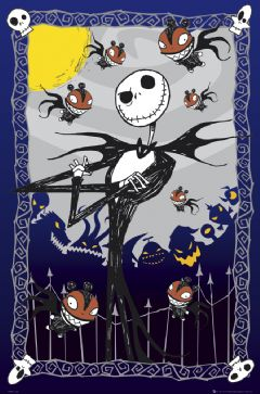 Poster Nightmare Before Christmas -  Glow In The Dark