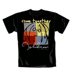 T-shirt John Lennon Come Together. Produit officiel Emi Music