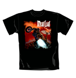 T-shirt Meat Loaf Bat Out Of Hell. Produit officiel Emi Music