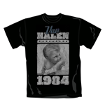 T-shirt Van Halen 1984. Produit officiel Emi Music