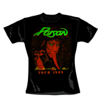 T-shirt Poison Tour. Produit officiel Emi Music