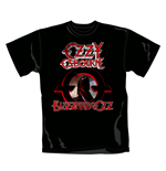 T-shirt Ozzy Osbourne Blizzard. Produit officiel Emi Music