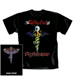 T-shirt Mötley Crüe - Dr. Feelgood. Sous licence officielle Emi Music