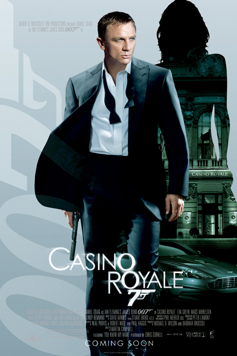 Poster James Bond Casino Royale Empire