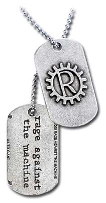 Dog Tag Rage Against The Machine  69994
