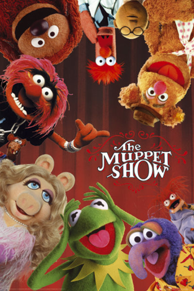 Poster The Muppets Cast S.O.S