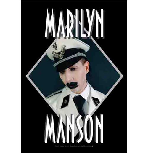 Drapeau Marilyn Manson Officer