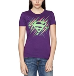 T-shirt Superman - Dayglo Krypton Graphic