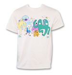 T-shirt Adventure Time Dancing with Monsters