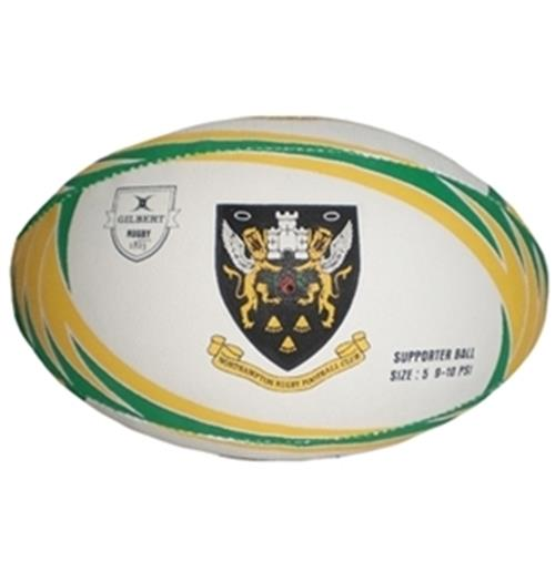 Ballon Rugby Supporter Northampton Saints