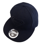 Superman casquette baseball Black Logo