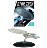 Star Trek Official Starships Collection magazine avec vaisseau #01 USS Enterprise NCC-1701-D