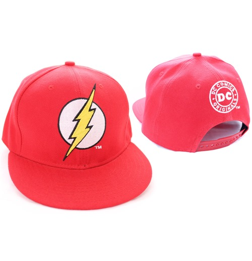 The Flash casquette baseball Logo rouge