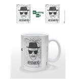 Breaking Bad mug Heisenberg Wanted