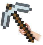 Minecraft réplique mousse 1/1 Iron Pickaxe 45 cm