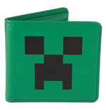 Minecraft - Portefeuille en cuir Creeper Face