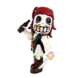 Calaveritas Mexican Day of the Dead figurine Pirate 11 cm