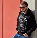 Sweat-shirt Jack Daniel's Noir