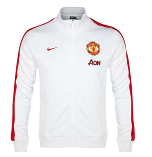 Veste Nike Authentic N98 Manchester United 2013 14 (blanc)