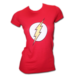 T-shirt The Flash Logo pour Femme - Rouge