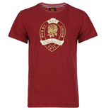 T-shirt Lifestyle Angleterre rugby 2012-13 (Rouge)