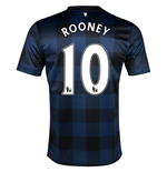 Maillot Manchester United 2013-14 Away (Rooney 10)