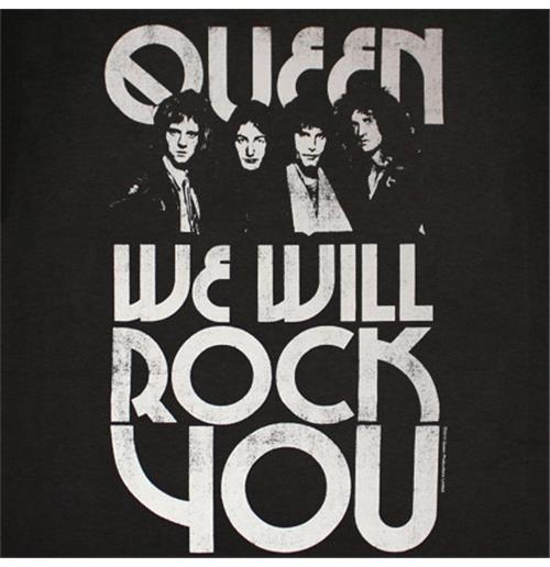Queen: We Will Rock You (Fast version)